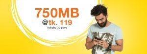 750 MB